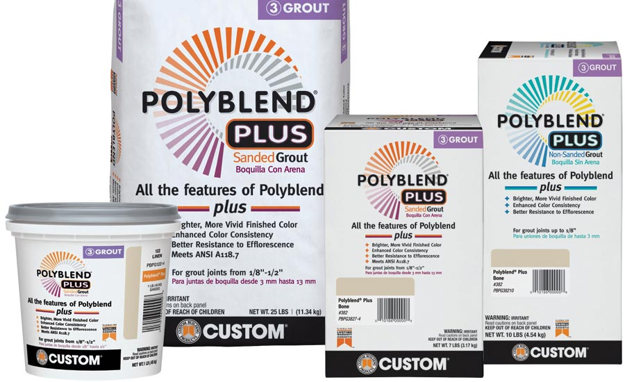 Custom Building Products' Polyblend Plus