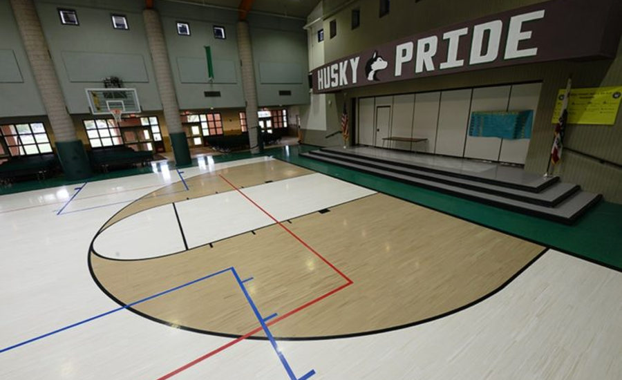 North Mountain Middle School Gymnasium
