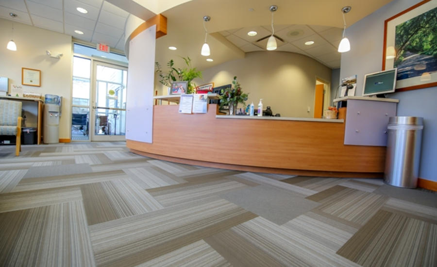 St. Elizabeth Hospital's Radiation Therapy waiting area
