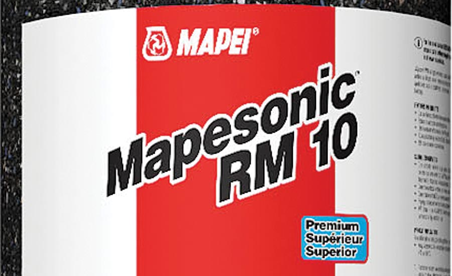 Mapesonic RM acoustic underlayment