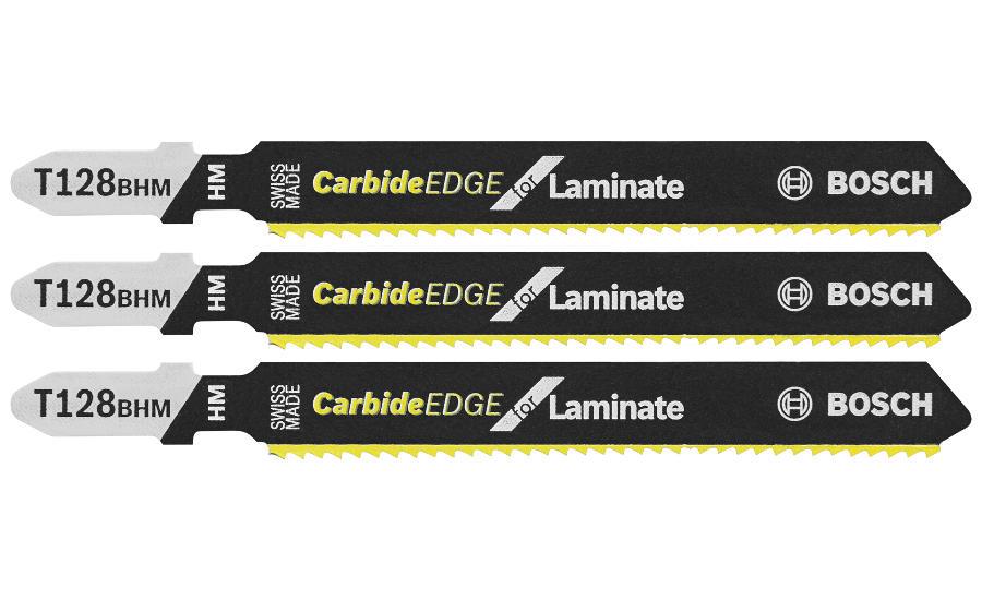 Bosch Introduces High Pressure Laminate Carbide Jig Saw Blades