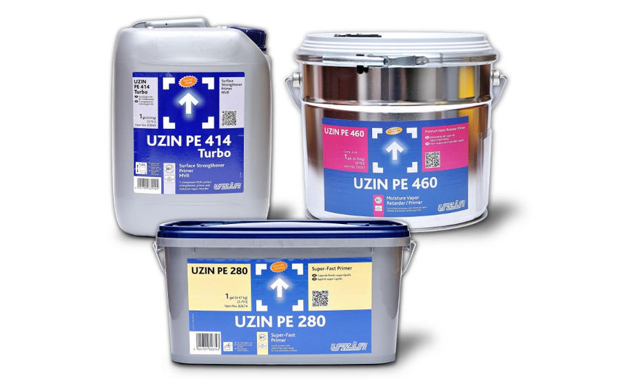 Uzin Releases Primers in Gallon Containers