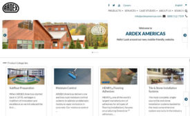 Ardex-Website