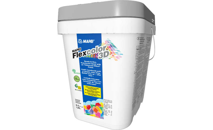 MAPEI Flexcolor 3D Designer Grout is Irresistibly Iridescent