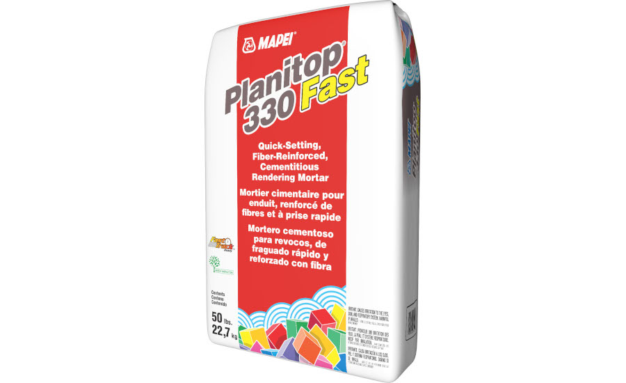 MAPEI Introduces Planitop 330 Fast