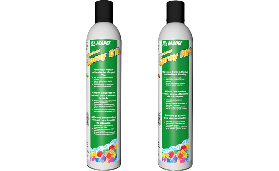 MAPEI's Ultrabond Spray RFA and CTA: An Evolution in Spray Adhesives