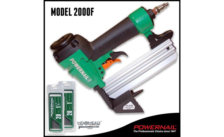 Powernail Model 2000f A 20 Gauge Cleat Nailer 2016 03 08
