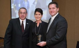 Kathy Spanier receives Person of the Year Award