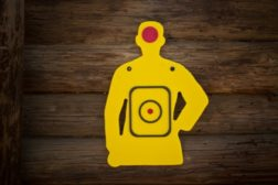 Silhouette target