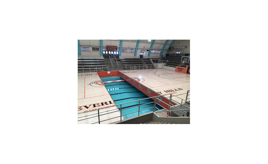 Robbins Flooring Installed In Swim Gym 2016 11 22 Floor Covering