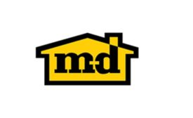 M-D Building Products logo.