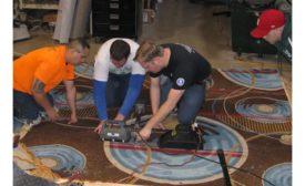 wool carpet installation training