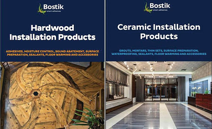 Bostik Offers Two New Catalogs on Hardwood Flooring, Ceramic