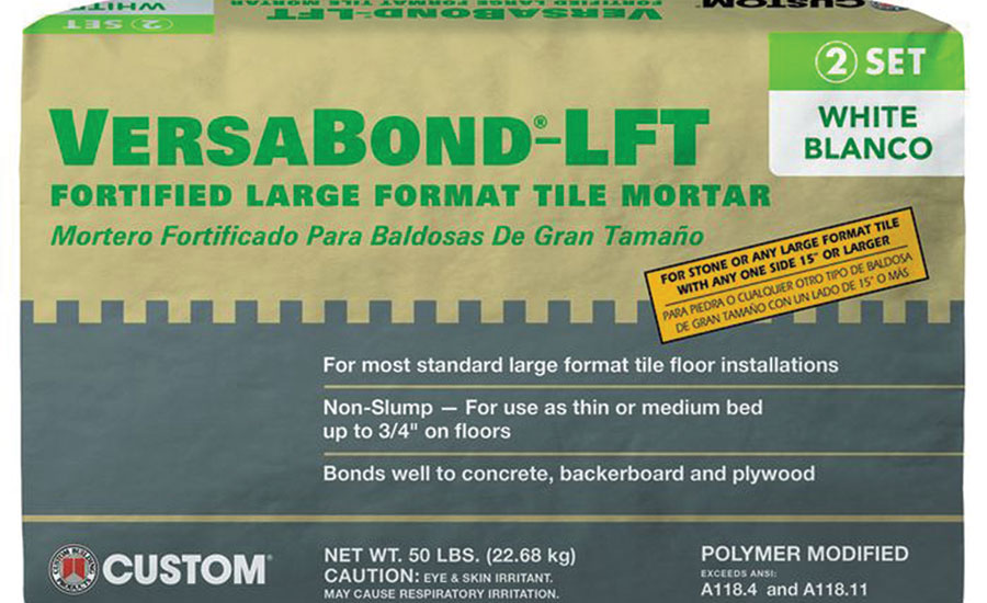 Custom Building Products VersaBond-LFT for Large Format Tile