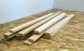 Measure moisture content when wood flooring first arrives
