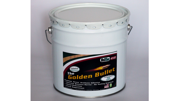 Dritac S Golden Bullet Adhesive Offers Moisture Protection