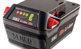Senco 18V battery, DS215 XP kit