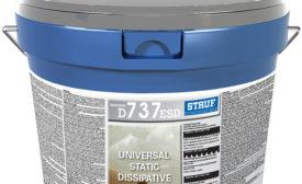 Stauf D737 ESD flooring adhesive