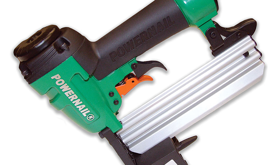 Powernail Model 2000f A 20 Gauge Cleat Nailer First In