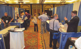 tradeshow welcomed about 50 exhibitors