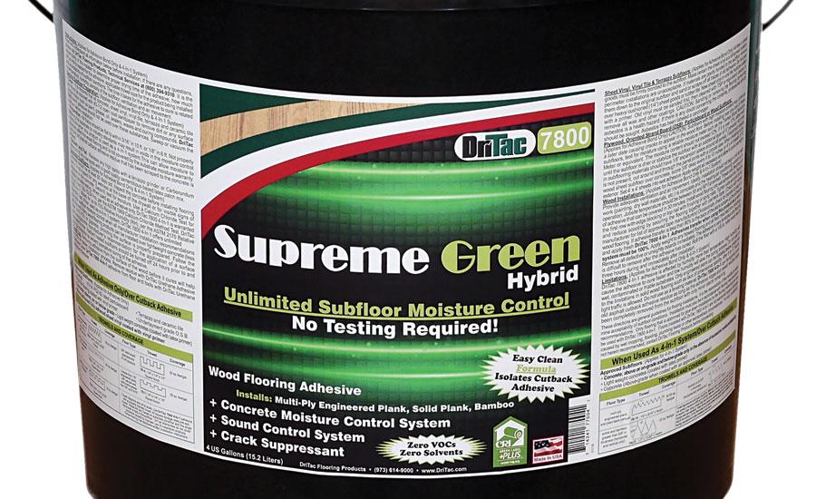 Dritac S Supreme Green 7800 A 5 In 1 Wood Flooring
