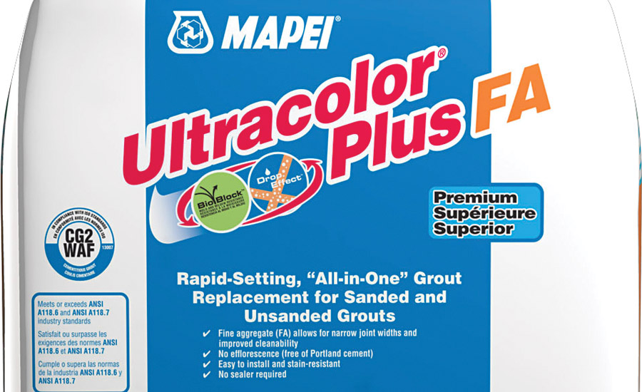 mapei 39 s ultracolor plus fa grout is rapid setting 2017. Black Bedroom Furniture Sets. Home Design Ideas