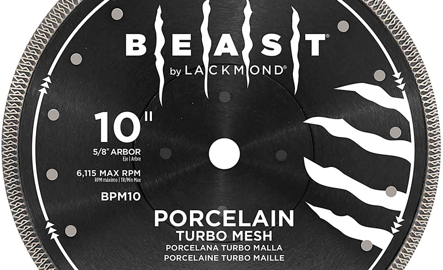Lackmond's Beast Pro Blade for Porcelain Tile Cutting