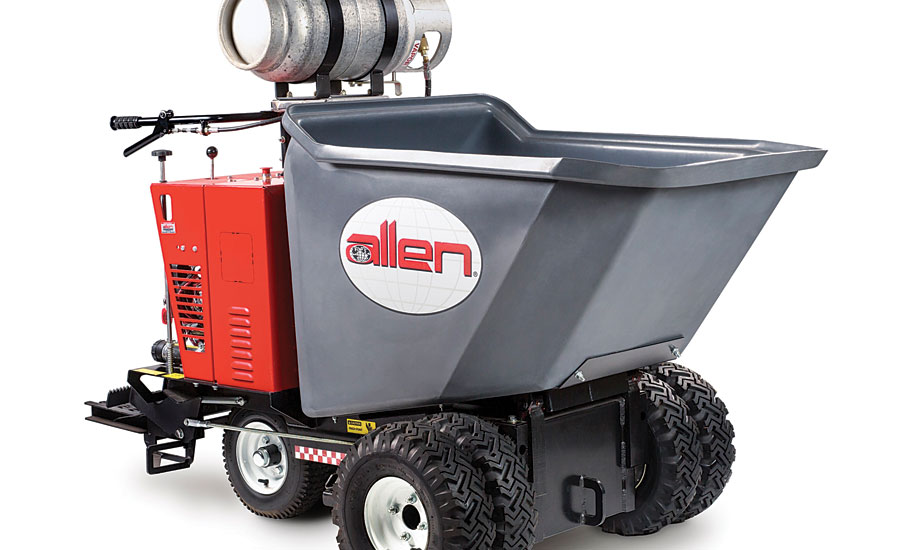 Allen Engineering's AR16 Wheel Buggy for Flooring Installation