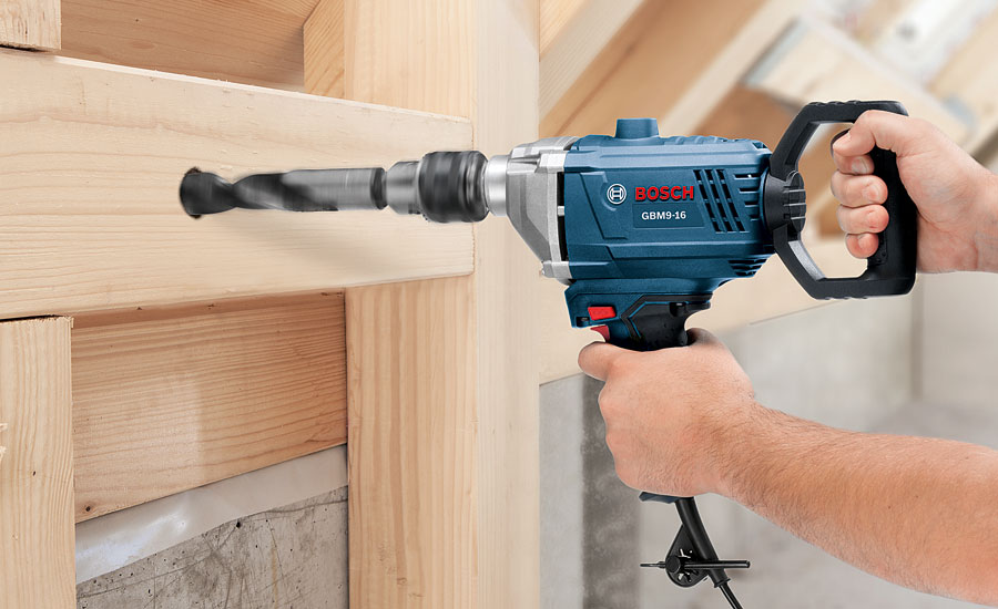 Bosch Presents the GBM9-16 Drill-Mixer for Flooring Installation