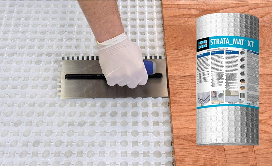 Laticrete Presents Strata_Mat XT for Installing Ceramic Tile and Natural Stone