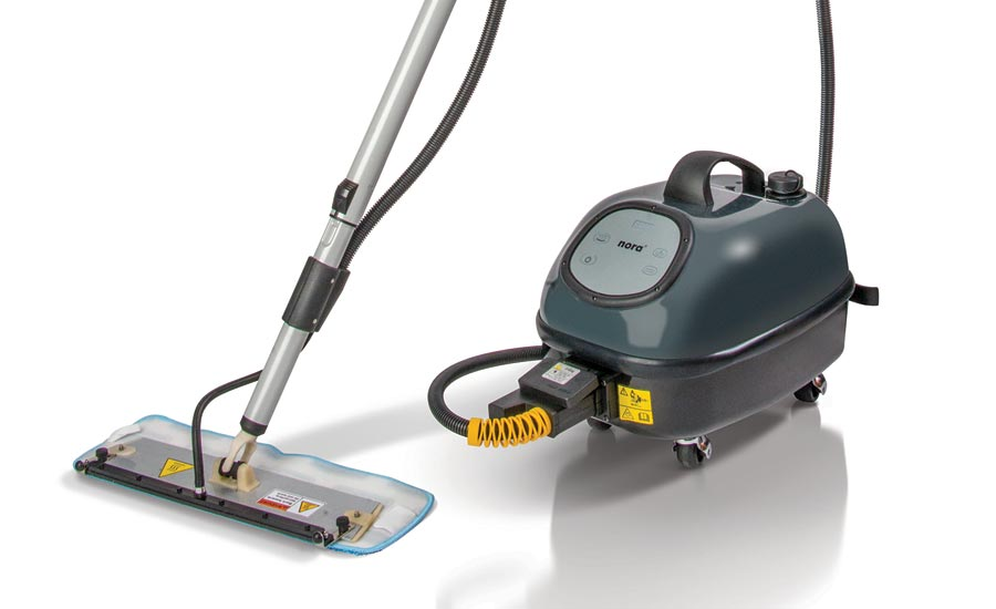 Nora Presents New Pro Steamer for Cleaning Resilient Floors