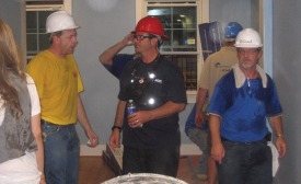 installation for Extreme Makeover Home Edition