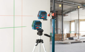 GLL 55 and GLL 100 G Self-Leveling Cross-Line Lasers