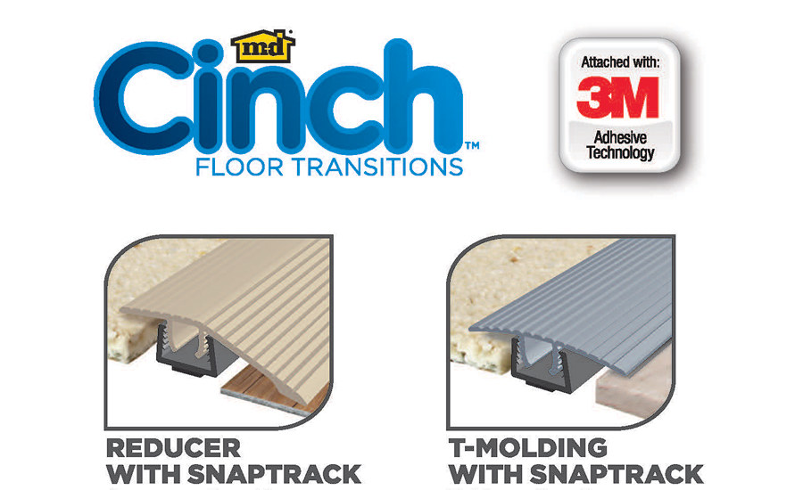 Loxcreen Launches M-D Cinch Floor Transitions