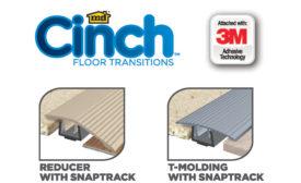 M-D Cinch Floor Transitions