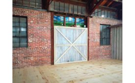 wide-plank wood flooring installation