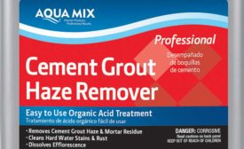 Cement Grout Haze Remover