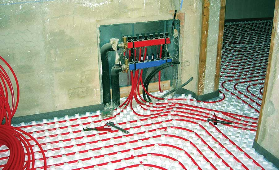 installing radiant heating