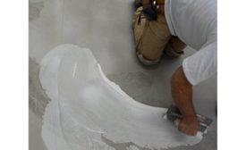 applying adhesive