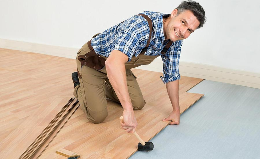 A Flooring Contractor's Control of the Workspace