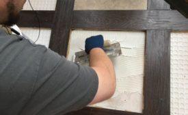 matching height of tile to hardwood