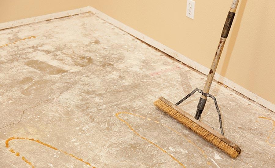 Installing Mlf Over Existing Floor