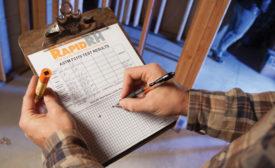 recording moisture measurements