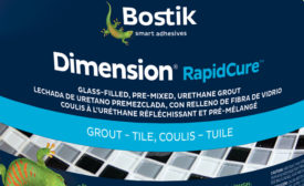 Bostik HXD-based grout
