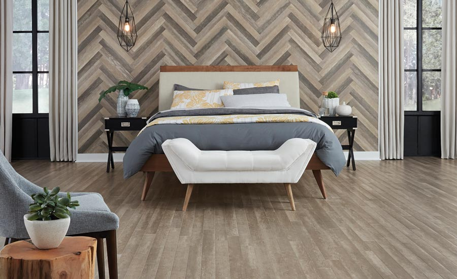 Installing Flooring Vertically, How To Apply Laminate Flooring To Walls