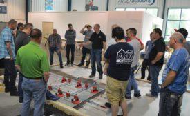 Ardex hosts installation training