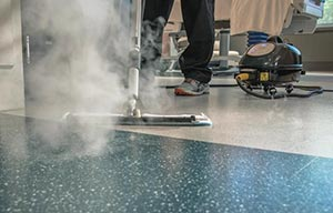 maintaining resilient flooring
