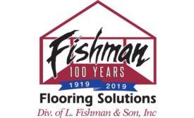 Fishman Flooring Solutions commemorative logo