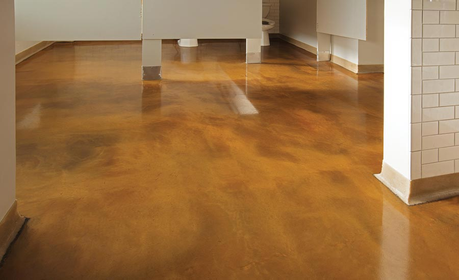 decorative options for resinous flooring
