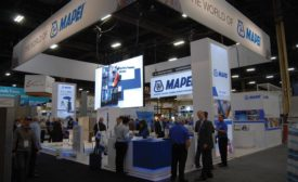 MAPEI exhibit at TISE
